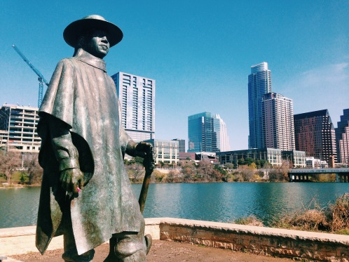Stevie Ray Vaughn on Auditorium Shores