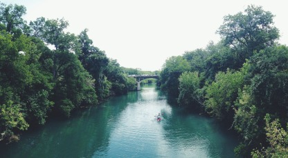 View near Barton Springs Pool